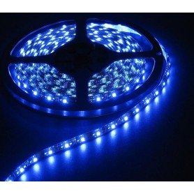 NedRo, IP20 SMD5630 Blue 12V Led Strip 60LED, LED Strips, AL047-CB