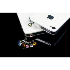 NedRo - 10 Pieces 3.5mm Diamond Dust Cover iPhone Samsung HTC Sony - Phone accessories - AL057 www.NedRo.us