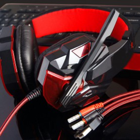 NedRo, Surround Stereo Gaming Headset with Mic and LED, Headsets and accessories, AL071-CB