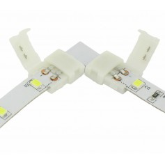 Oem - 8mm L Connector for 1 color SMD3528 LED strips - LED connectors - LSC21-CB
