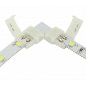Oem - 10mm L Connector for 1 color SMD5050 5630 LED strips - LED connectors - LSC24-CB