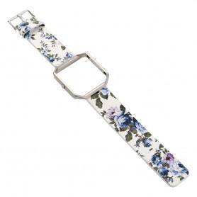 NedRo, Flowery Hip Eco Leather Bracelet for Fitbit Blaze with Housing, Bracelets, AL089-CB, EtronixCenter.com