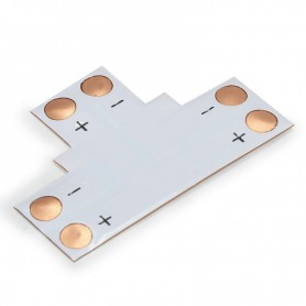 NedRo, 10mm T PCB Connector for 1 color SMD5050 5630 LED strips, LED connectors, LSC16-CB