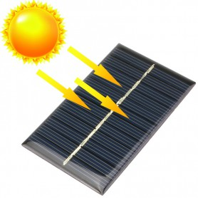 NedRo - 6V 1W 110x60mm Mini solar panel - Solar panels and wind turbines - AL104 www.NedRo.us