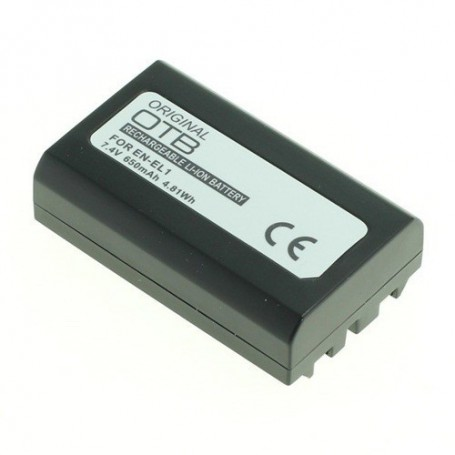 OTB, Battery for Nikon EN-EL1 / Konica Minolta NP-800 650mAh, Nikon photo-video batteries, ON1809, EtronixCenter.com