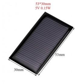 NedRo - 5V 0.15W 53x30mm Mini solar panel - Solar panels and wind turbines - AL114 www.NedRo.us