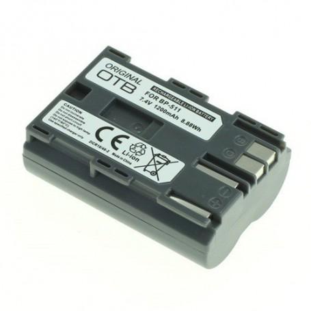 OTB - Battery for Canon BP-511 Li-Ion 1200mAh - Canon photo-video batteries - ON1810