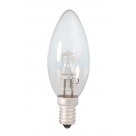 Calex - E14 28W 230V Halogen B35 candle shape lamp clear glass - Halogen Lamps - CA0347-CB www.NedRo.us