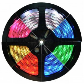 NedRo, RGB 12V Led Strip 60LED IP65 SMD3528, LED Strips, AL244-CB