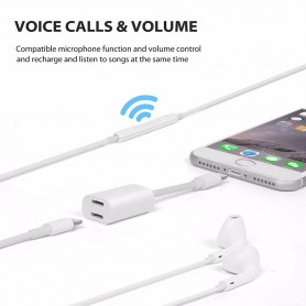 NedRo - iPhone 7 / 7 Plus Duo - Audio DataSync Charge cable - iPhone data cables  - AL591-CB www.NedRo.us