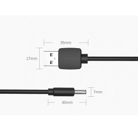 Vention, 3.5mm DC to USB 2.0 80cm charging cable, Plugs and Adapters, V010-CB, EtronixCenter.com