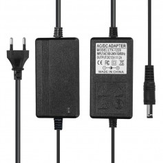 NedRo, 2A 12V DC 100-240V LED Strip Adapter Power supply, Plugs and Adapters, APA10