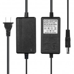 NedRo, 2A 12V DC 100-240V LED Strip Adapter Power supply - US Plug, Plugs and Adapters, APA09