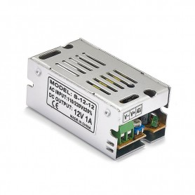 Oem - DC12V 1A 12W Switching Power Supply Adapter Driver Transformer - LED Transformers - SPS01