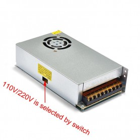 NedRo, DC12V 20A 240W Switching Power Supply Adapter Driver Transformer, LED Transformers, SPS60, EtronixCenter.com