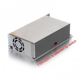 NedRo, DC12V 40A 480W Switching Power Supply Adapter Driver Transformer, LED Transformers, SPS20, EtronixCenter.com