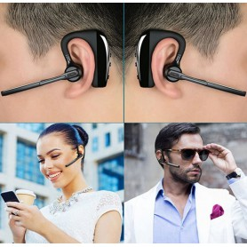 HD Voice - K10 Bluetooth Headset Wireless Earphone Headphones with Mic - Headsets and accessories - AL143