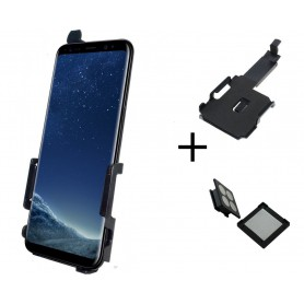 Haicom - Haicom magnetic phone holder for SAMSUNG GALAXY S8 HI-503 - Car magnetic phone holder - ON4795-SET www.NedRo.us
