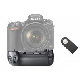 Travor, Battery Grip compatible Nikon D750 MB-D16, Nikon photo-video batteries, AL148