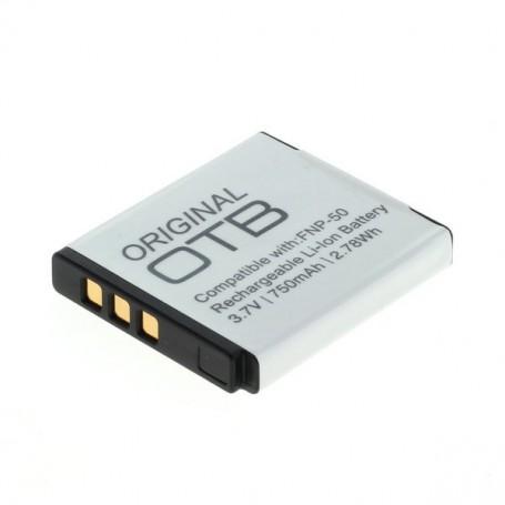 OTB - Battery for Fuji NP-50/ Pentax D-LI68 / Kodak Klic-7004 - Fujifilm photo-video batteries - ON1546