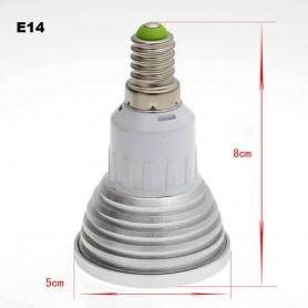 NedRo - E14 4W 16 Color Dimmable LED Bulb with Remote Control - E14 LED - AL151-CB www.NedRo.us