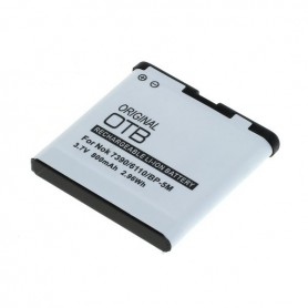 OTB, Battery for Nokia BP-5ML 800mAh Li-Ion, Nokia phone batteries, ON4821, EtronixCenter.com