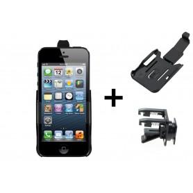 Haicom - Car-Fan Haicom Phone holder for Apple iPhone 5 / iPhone 5s / iPhone SE HI-228 - Car fan phone holder - ON4512-SET ww...