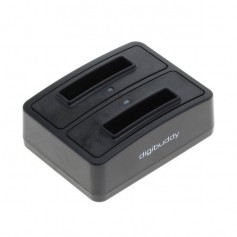 OTB - Dual Battery Chargingdock 1302 compatible with Samsung BG800BBE - Ac charger - ON4827