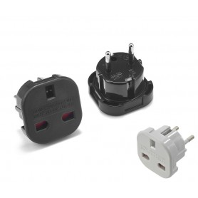 Unbranded - UK to EU Travel Plug - Plugs and Adapters - AC19-CB www.NedRo.us