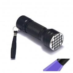 Oem - Mini UV LED Flashlight Portable 21LED Torch Violet Purple AAA - Flashlights - LFT68