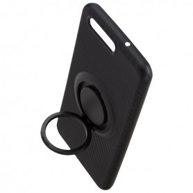 Peter Jäckel, Finger Loop Cover Carbon Style for Huawei P10, Huawei phone cases, ON4840, EtronixCenter.com