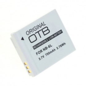 OTB, Battery for Canon NB-6L 750mAh 3.7V Li-Ion, Canon photo-video batteries, ON1585