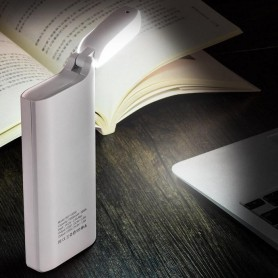 HOCO - HOCO PSB27 15000mAh Power Bank 2A / 1A with LED lamp - Powerbanks - H60732-CB www.NedRo.us