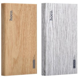 HOCO - HOCO Wood Grain 13000mAh Power Bank 2x 2.1A - Powerbanks - H60374-CB