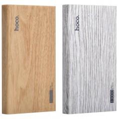 HOCO Wood Grain 13000mAh Power Bank 2x 2.1A