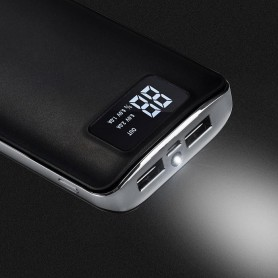 HOCO - HOCO Flowed 15000mAh Power Bank 1A/2.1A with flashlight - Powerbanks - H60369-CB www.NedRo.us