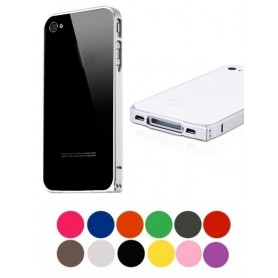 NedRo - Aluminum Case 0.7mm for Apple iPhone 4 / 4S - iPhone phone cases - AL320-CB