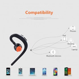 HD Voice, Handsfree Bluetooth v3 headsets with mic voice control, Headsets and accessories, AL169-CB, EtronixCenter.com
