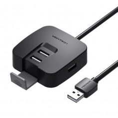 Vention - USB 2.0 Hub 4 Ports Phone Holder USB Splitter Adapter - Ports and hubs - V001-CB