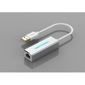 Vention, USB 3.0 - 10/100/1000 Mbps Ethernet LAN Adapter, Network adapters, V007, EtronixCenter.com