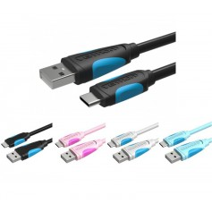 USB 2.0 to USB Type-C 3.1 Data Cable