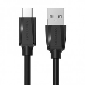 Vention - USB 2.0 to USB Type-C Data Cable - Black - USB to USB C cables - V020-CB
