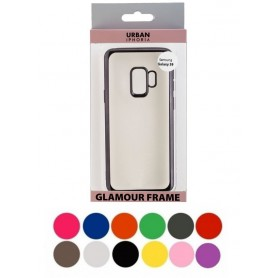 Peter Jäckel, Urban Style back cover glamour frame for Samsung Galaxy S9 (SM-G960), Samsung phone cases, ON4933-CB