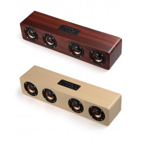 NedRo - 12W W8 Bluetooth v4.2 Speaker 3D MP3 Aux TF - Speakers - AL173-CB