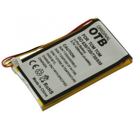 OTB, Battery for TomTom Go 720 1200mAh Li-Polymer ON1840, Navigation batteries, ON1840