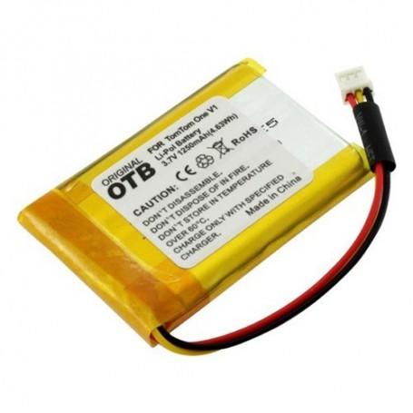 OTB - Battery for TomTom One V1 1250mAh Li-Polymer - Navigation batteries - ON1843
