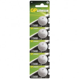 GP - GP CR2430 3V lithium button cell battery - Button cells - BS029-CB