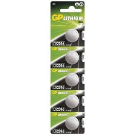 GP - GP CR2016 3V lithium button cell battery - Button cells - BS249-CB