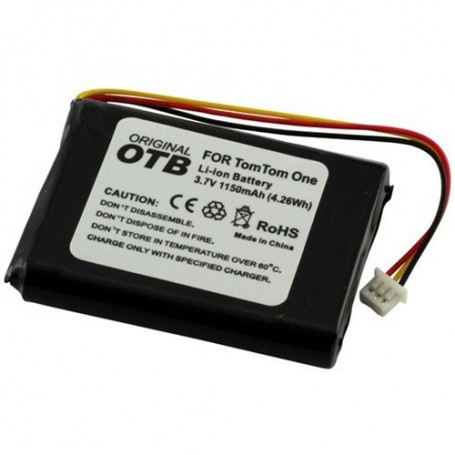 OTB - Battery for TomTom One/One Europe/Rider/V2/V3 1150mAh - Navigation batteries - ON1845