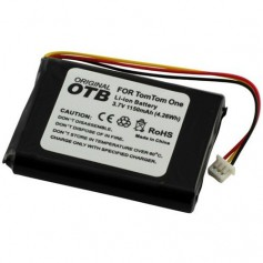 OTB - Battery for TomTom One/One Europe/Rider/V2/V3 1150mAh - Navigation batteries - ON1845